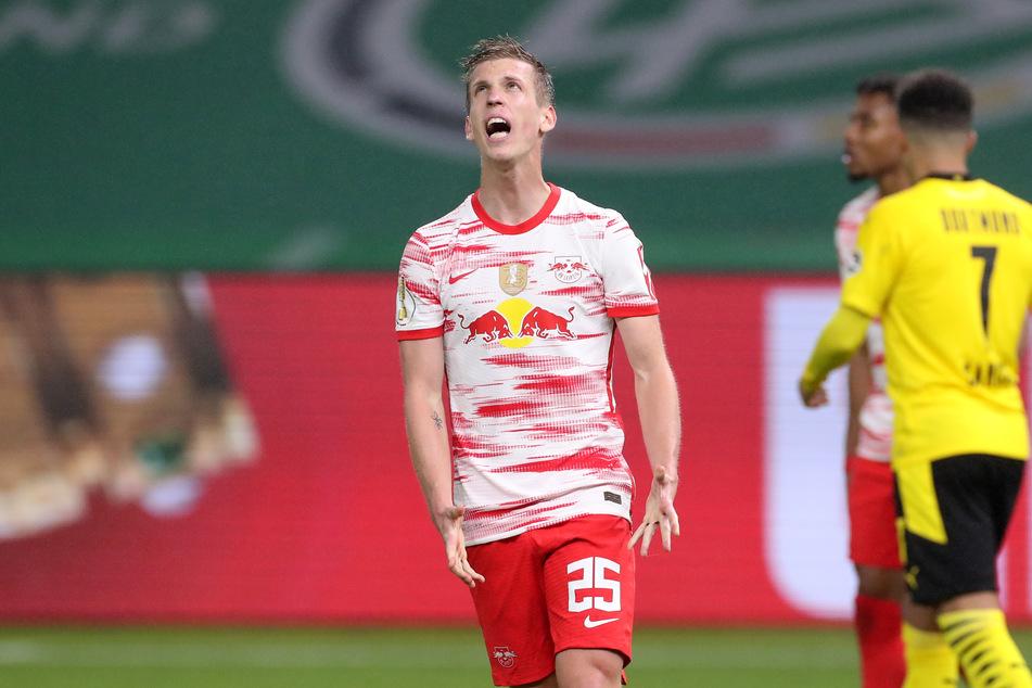 Dani Olmo (23) hat sich beim Spiel gegen den 1. FC Köln einen kleinen Muskelfaserriss zugezogen. Wie lang er genau fehlen wird, ist noch unklar.
