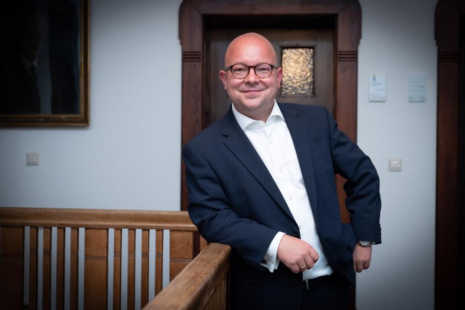 Der FDP-Landesvorsitzende Frank Müller-Rosentritt (39) zieht über die sächsische Landesliste in den Bundestag ein.