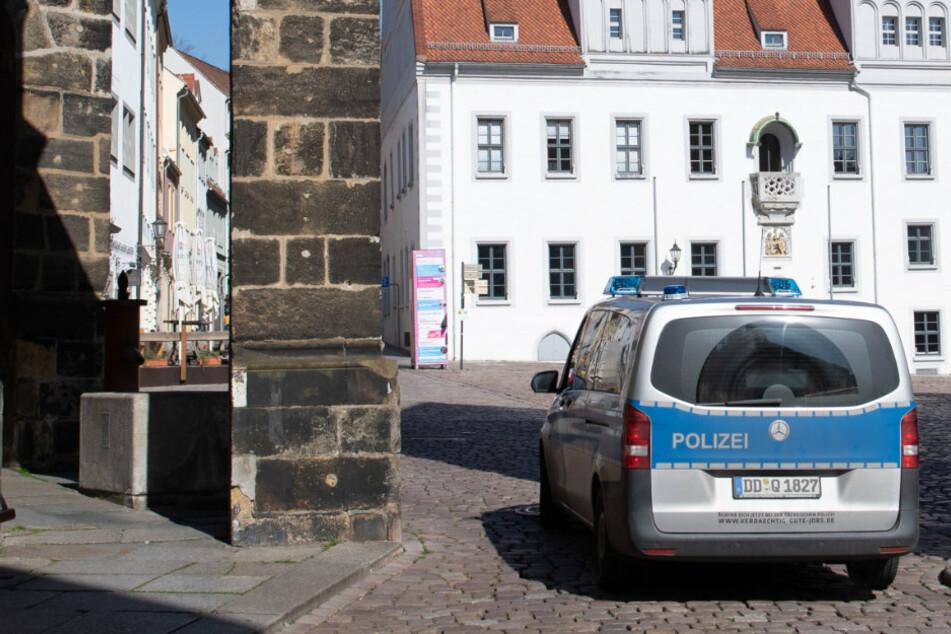 In der Stadt Meißen wurde eine Polizistin mit einem Laserpointer verletzt. (Symbolbild)