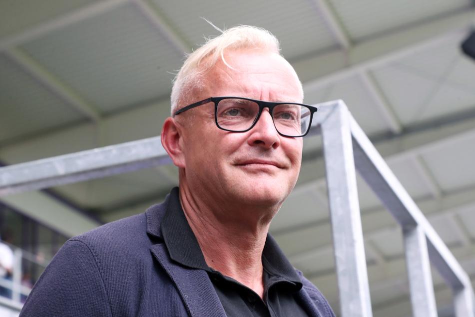 FCE-Geschäftsführer Michael Voigt (49) bestätigt den Eingang mehrerer Bewerbungen für den Trainerposten beim FC Erzgebirge Aue.