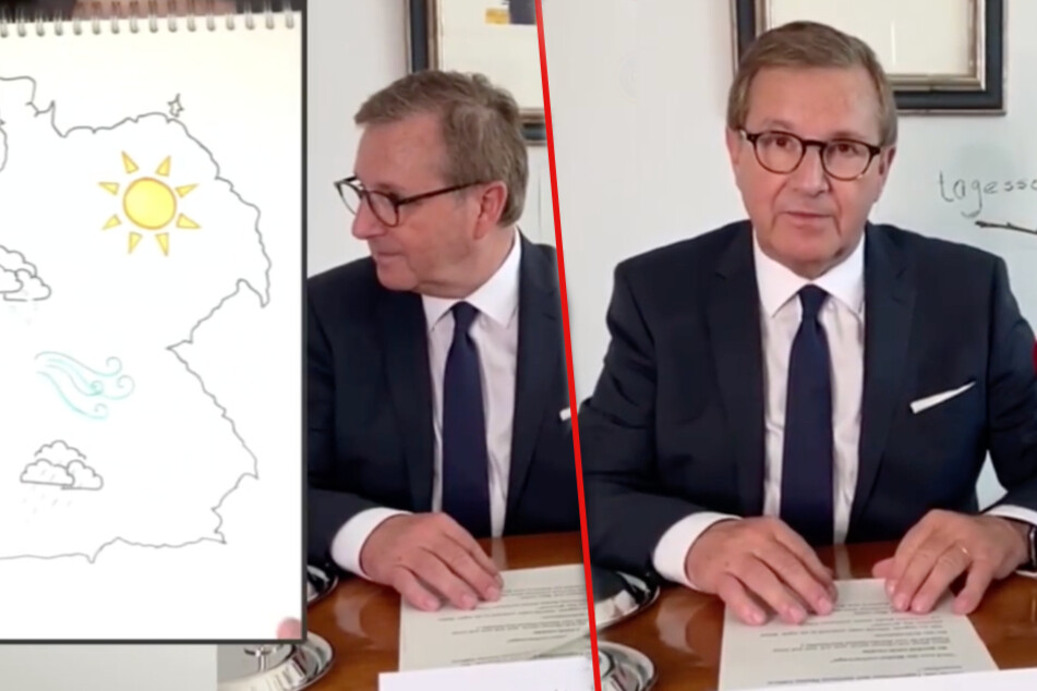 Mr. Tagesschau Jan Hofer überrascht mit Sendung aus dem Home-Office