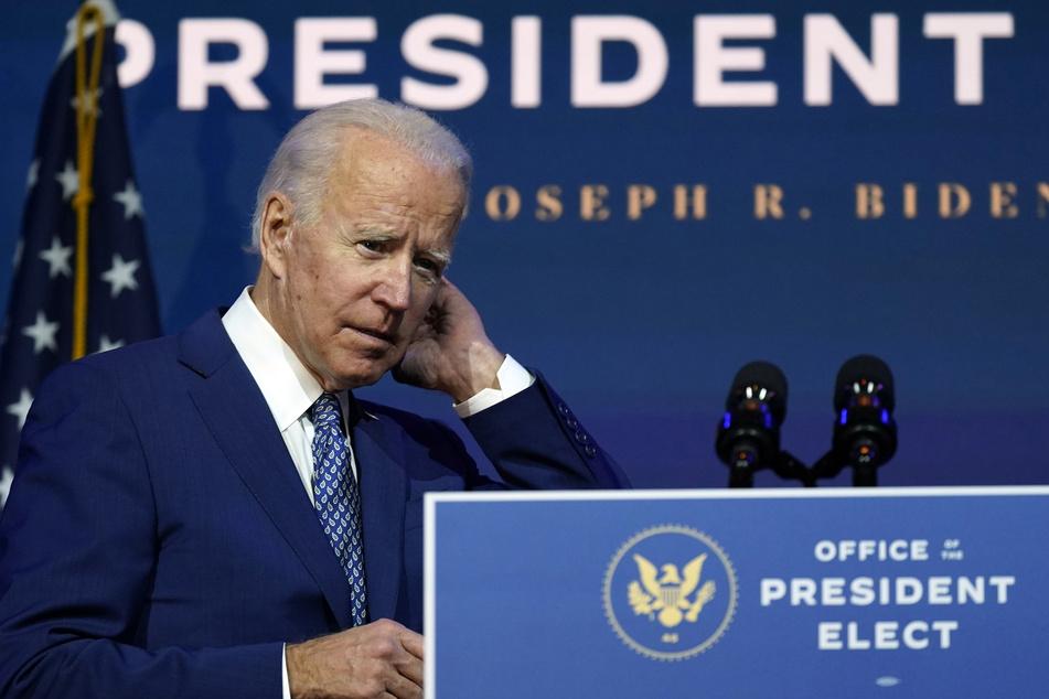 "Joe Biden (77), ""Gewählter Präsident"" (""President elect"") der USA, soll am 20. Januar vereidigt werden."