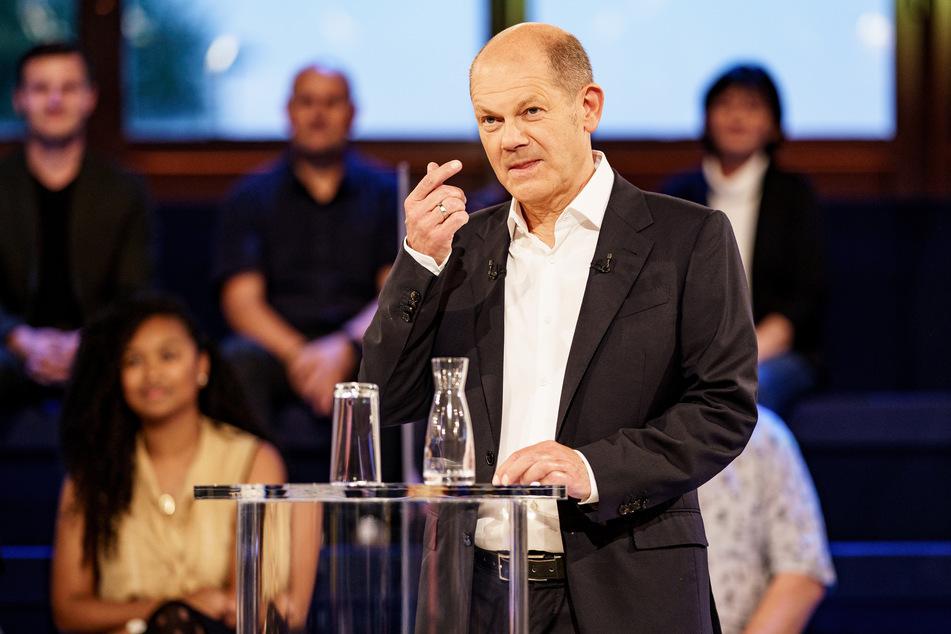 Olaf Scholz (63, SPD), Spitzenkandidat seiner Partei bei der kommenden Bundestagswahl.