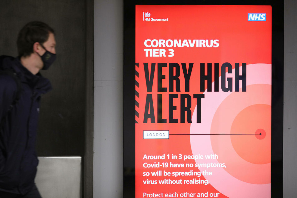 London and south-eastern England have gone into lockdown after a mutated strain of the coronavirus led to a spike in infections.