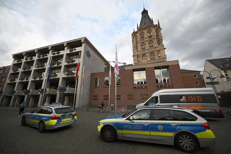 Das Rathaus in Köln.