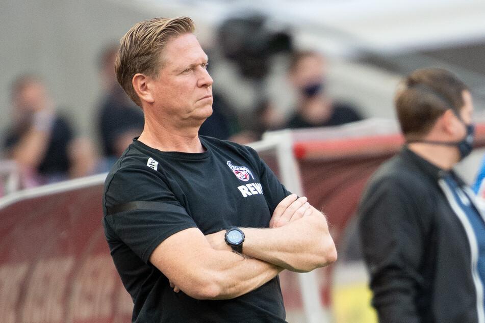 FC-Trainer Markus Gisdol (51) war nur mit der zweiten Halbzeit gegen die TSG Hoffenheim zufrieden.