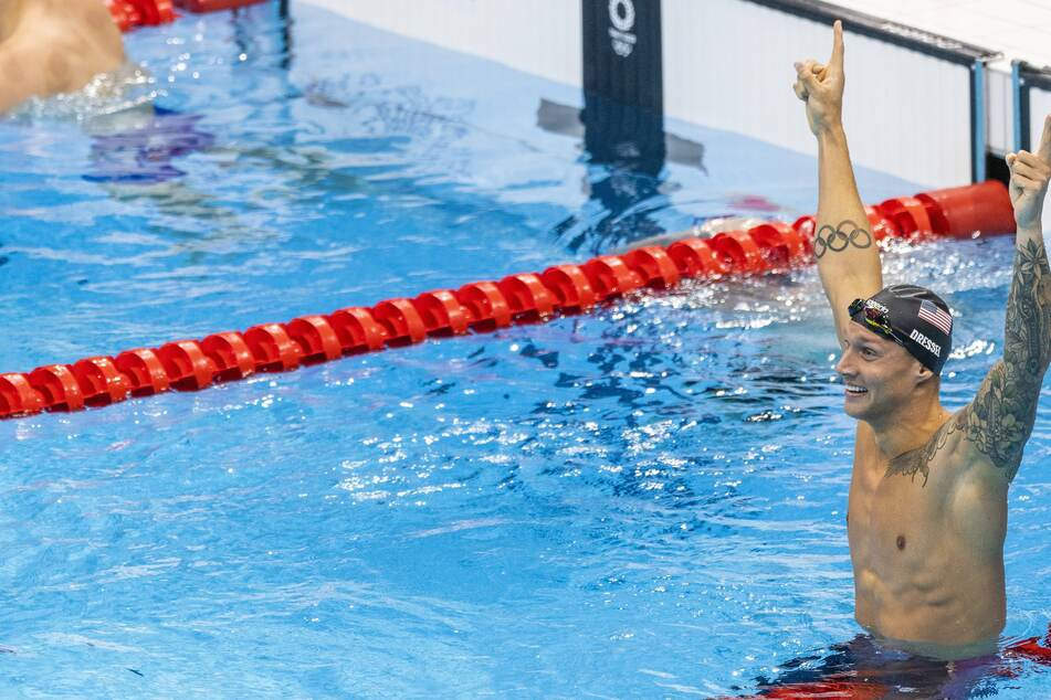 Olympics: Team USA gets more gold in the pool thanks to Dressel and Finke, while Ledecky captures silver again