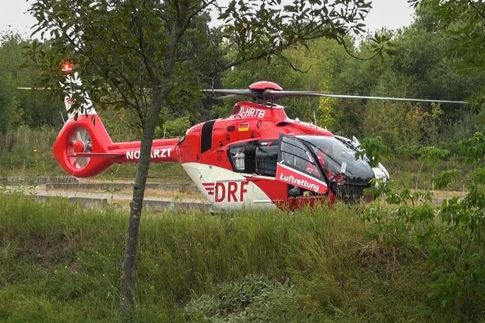 Der 81-jährige Berliner ist nach dem Unfall mit einem Rettungshubschrauber ins Krankenhaus geflogen worden. (Symbolfoto)