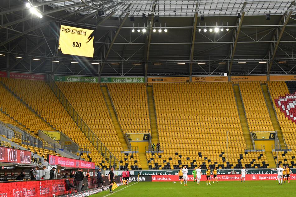 Nur 820 von 999 Tickets hat Dynamo Dresden für das Heimspiel gegen den SV Meppen verkauft. (Archivbild)