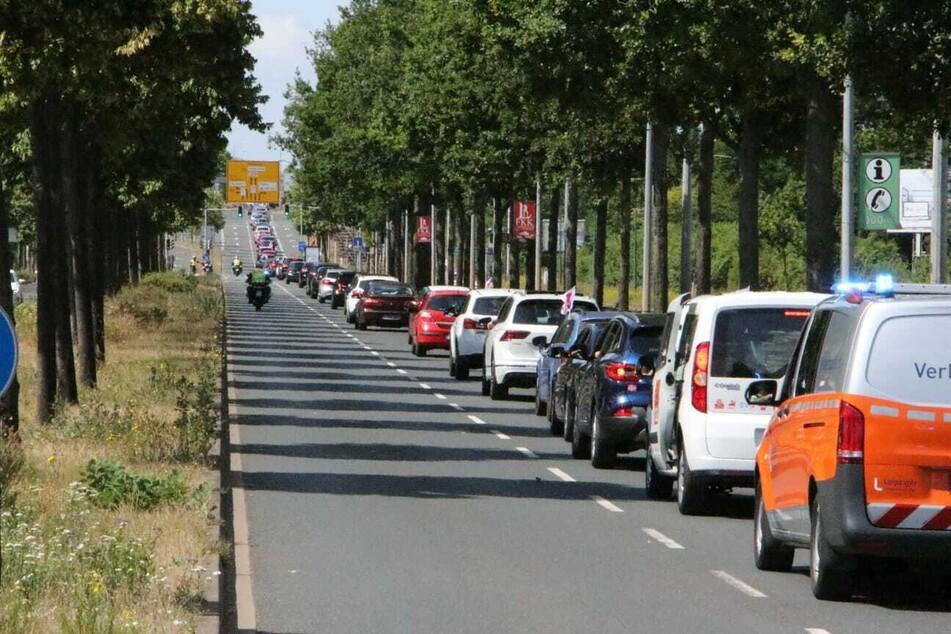 Die Mitarbeiter von Amazon in Leipzig haben auch am Dienstag gestreikt.