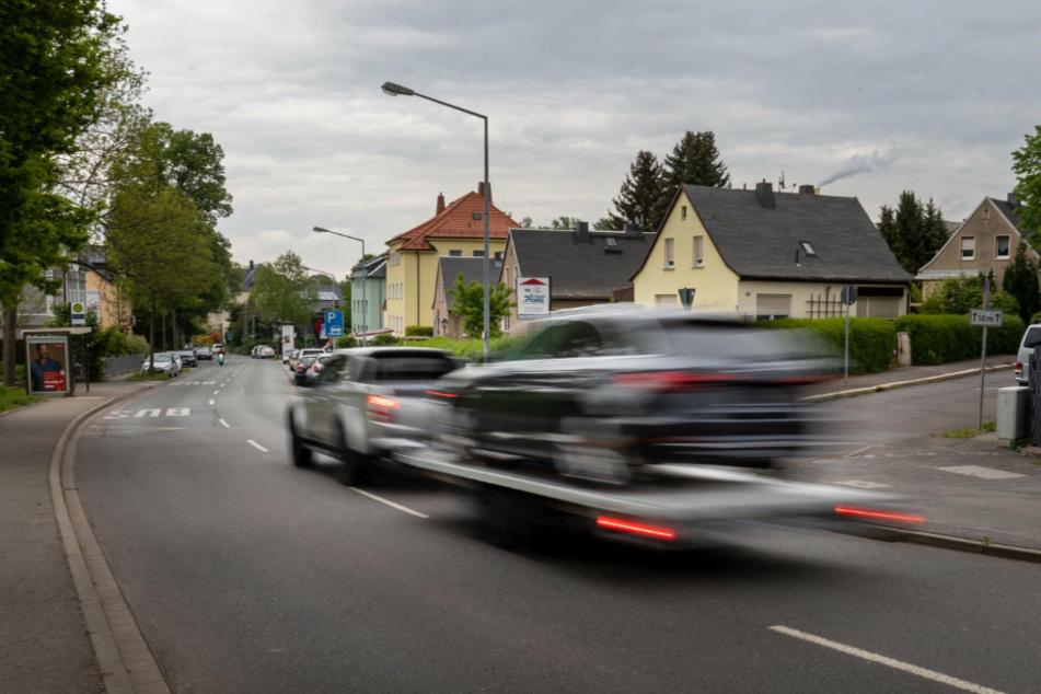 Hier entsteht die kürzeste Tempo-30-Zone von Chemnitz