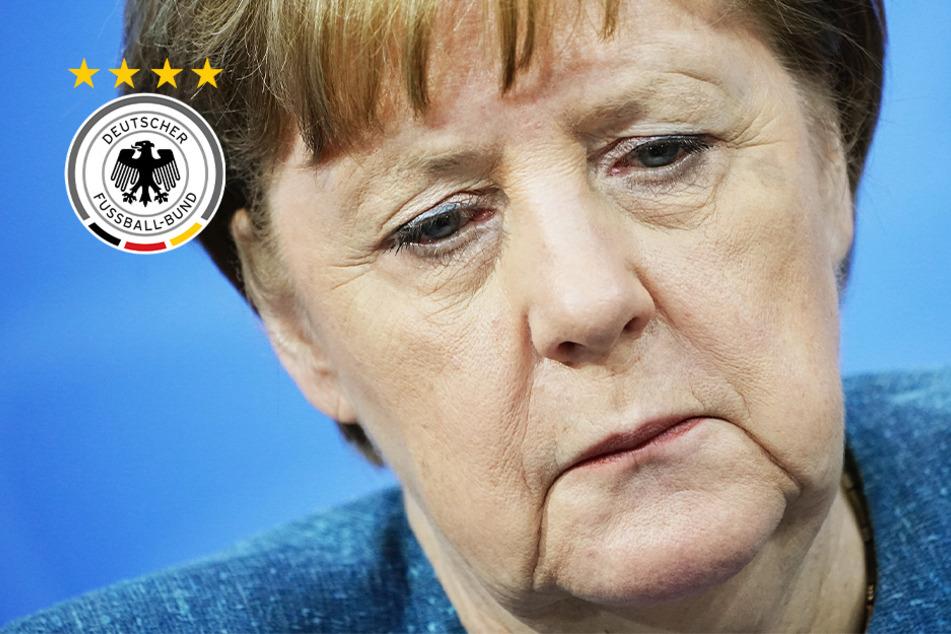 """Angela Merkel nach deutschem EM-Aus """"enttäuscht und ein bisschen traurig"""""""