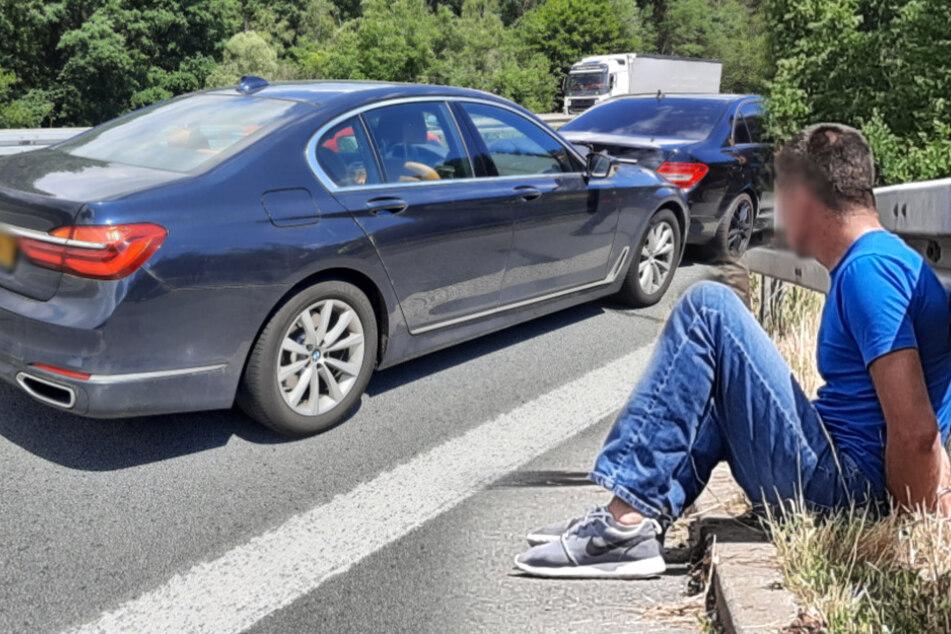 Verfolgungsjagd auf A4: Mutmaßlicher Autodieb fährt in Zivilfahrzeug