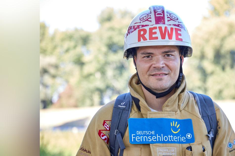 Feuerwehrmann läuft 363 Kilometer in Vollmontur, der Grund ist rührend