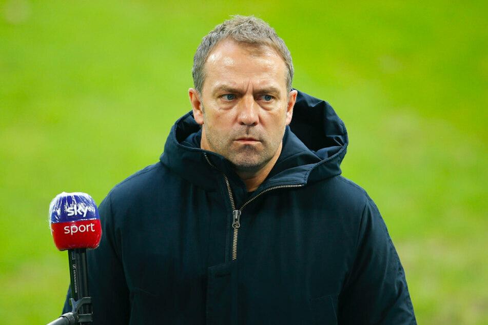 Bayern-Trainer Hansi Flick (56) wird weiterhin als Coach der DFB-Elf gehandelt. (Archiv)