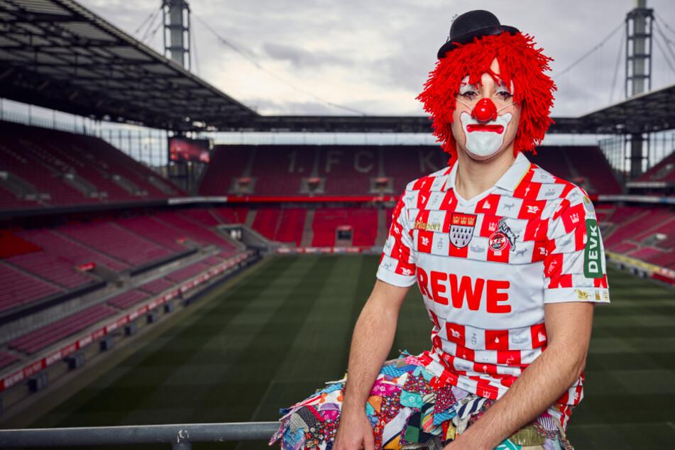 """Lappenclown-Look"": 1. FC Köln stellt närrisches Karnevalstrikot vor"
