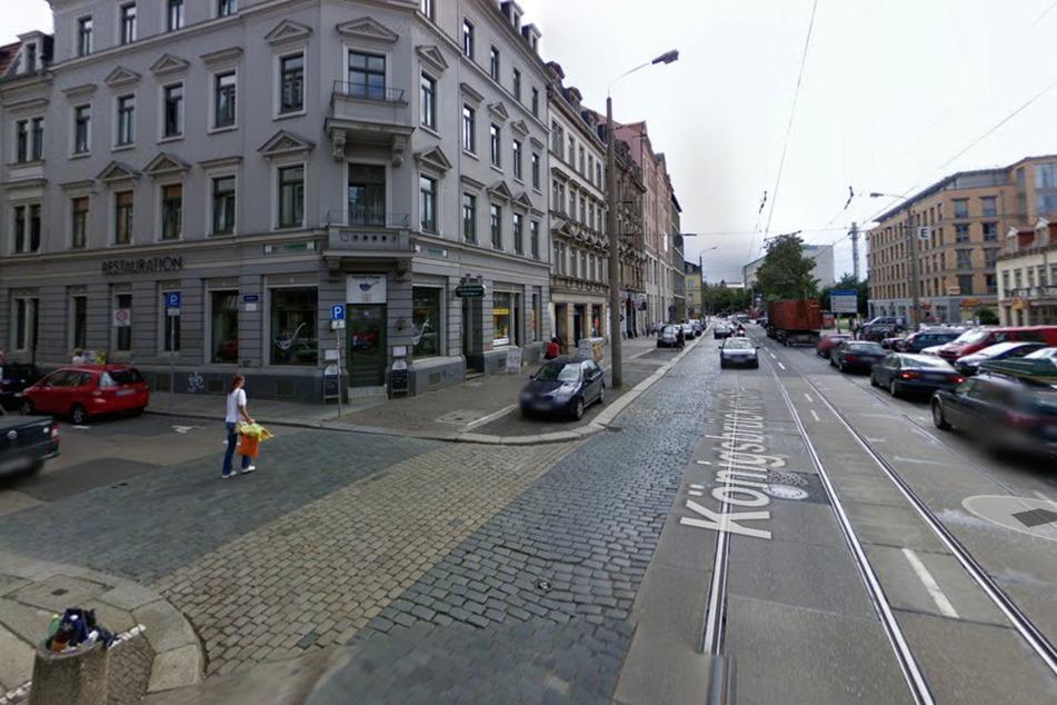 Feuerwehrmann in Dresdner Neustadt angefahren