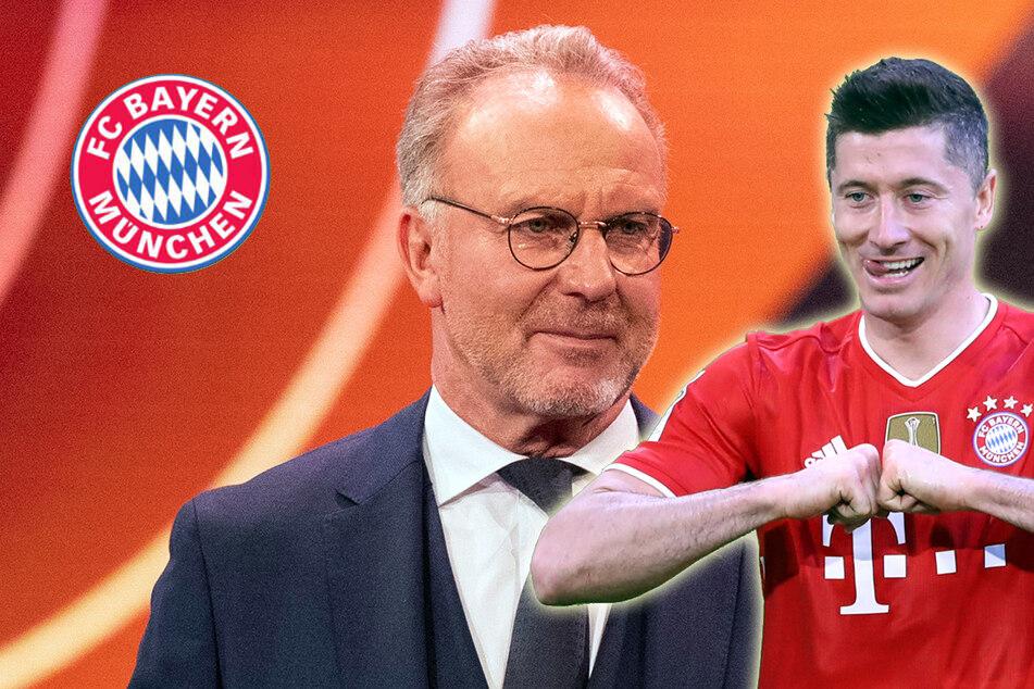 """Rummenigge über Lewandowski bei Bayern: """"Klar bleibt der!"""""""