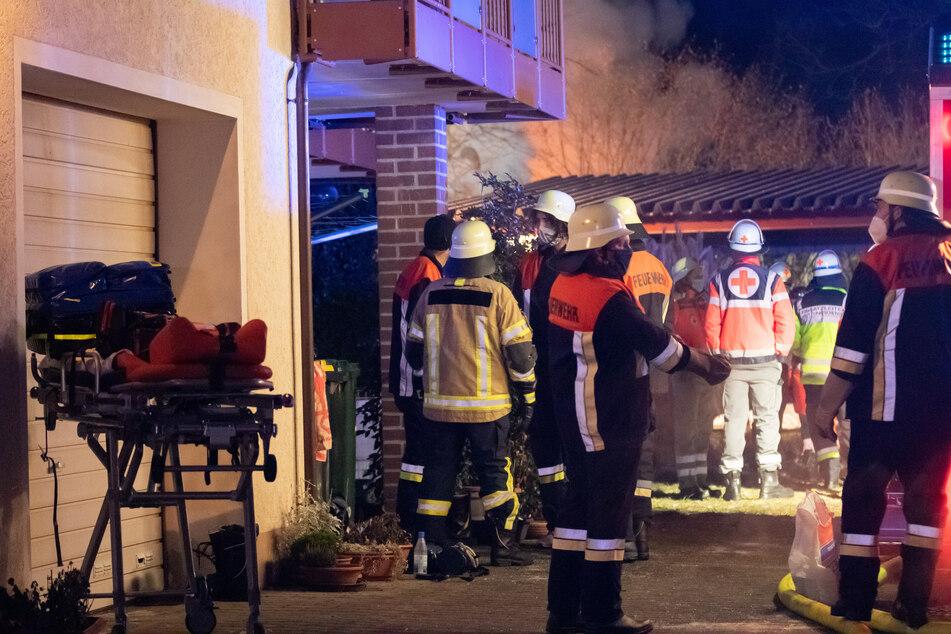 Die Rettungskräfte konnten nichts mehr für das Opfer tun.