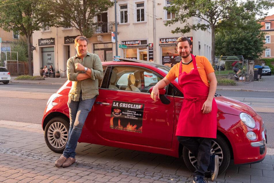 Pierpaolo Mattiacci (Geschäftsführer, links) und Andrea Balsamo (Koch und Mitgestalter von La Griglia).