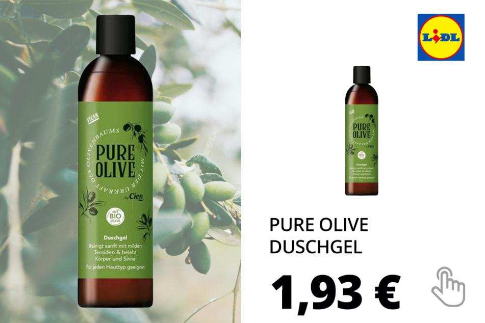 Pure Olive Kosmetikartikel - Duschgel