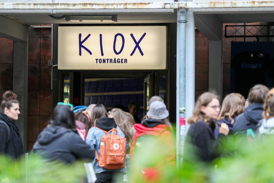 Hunderte Fans stürmten im Oktober Kummers Plattenladen in Chemnitz.