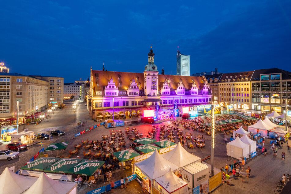Wie schon im vergangenen Jahr wird die Leipziger Markt Musik unter Einhaltung gewisser Regeln ab Freitag stattfinden.