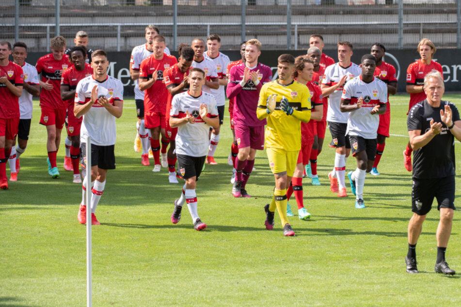 VfB-Trainingsauftakt am vergangenen Dienstag in Stuttgart.