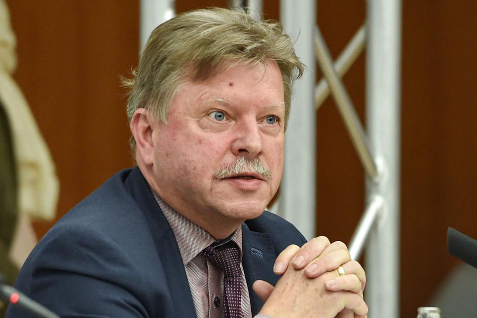 Präsident des Städte- und Gemeindetags: Bert Wendsche (57).