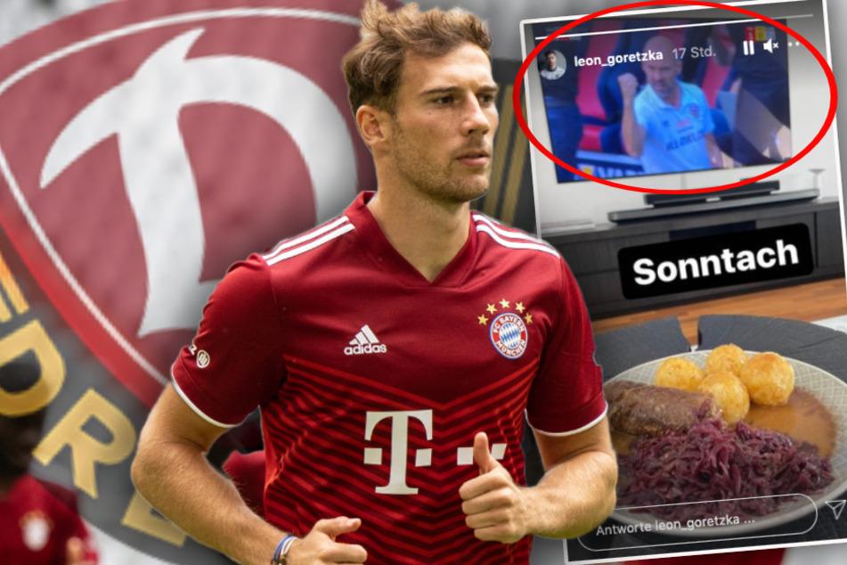 """Dynamo und Roulade: So verbringt Bayern-Kicker Leon Goretzka also seinen """"Sonntach""""!"""