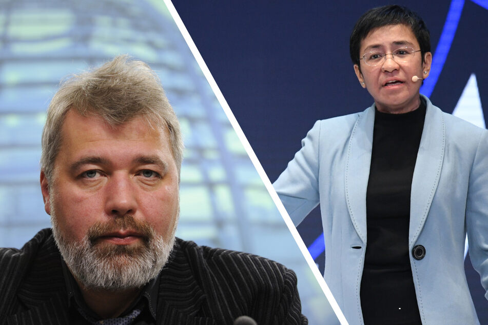 Sie kämpfen für Meinungs- und Pressefreiheit: Journalisten mit Friedens-Nobelpreis geehrt