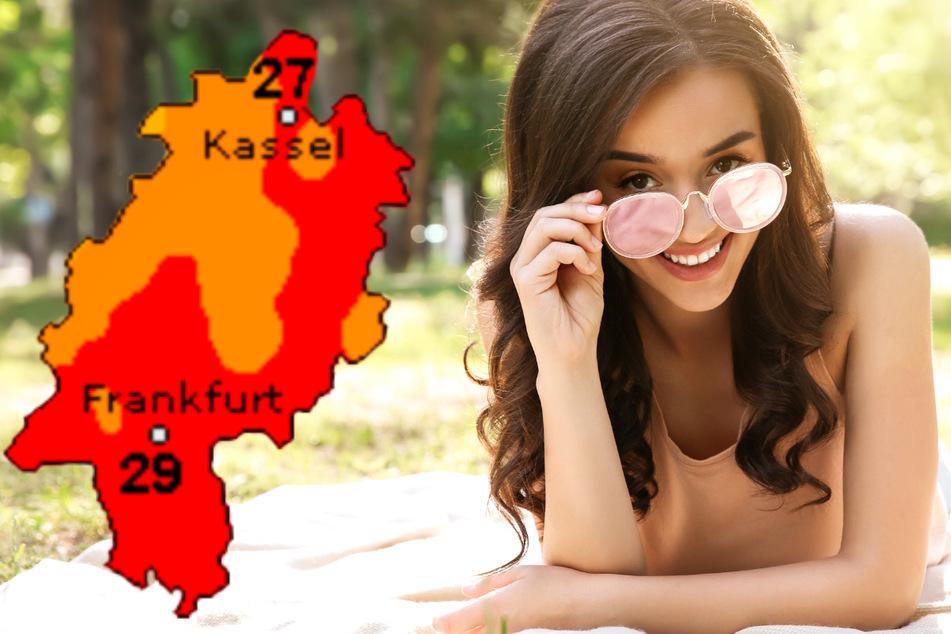 Sommer-Sonne in Frankfurt und Hessen, doch auch Gewitter und Starkregen möglich