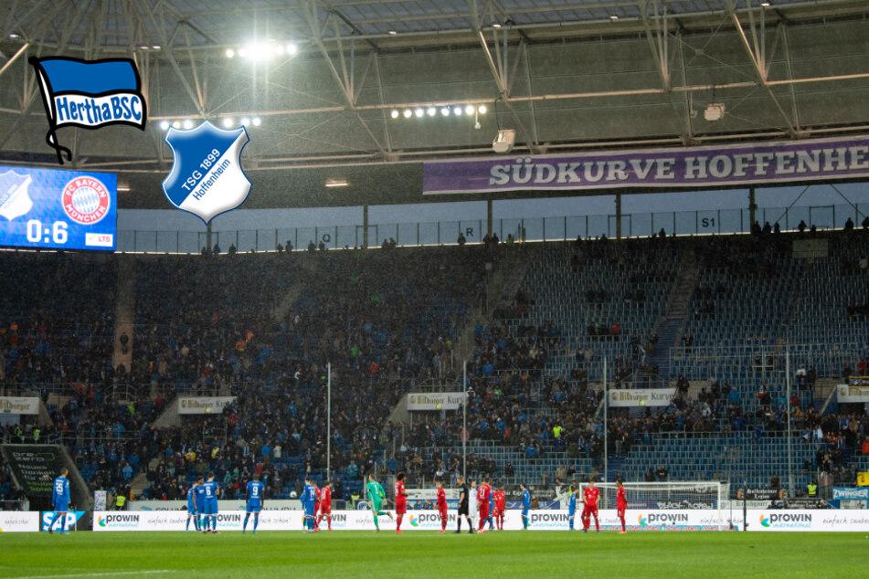 Geisterspiel: Hoffenheim gegen Hertha BSC findet ohne Zuschauer statt