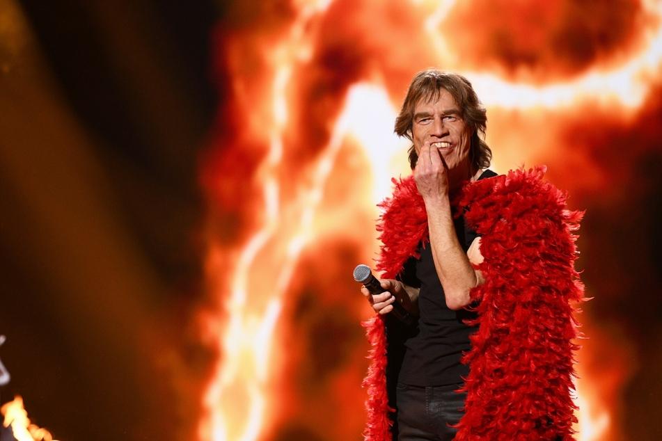 """Sorgte für reichlich Gelächter: """"Mick Jagger""""-Double Martin Schneider (56)."""