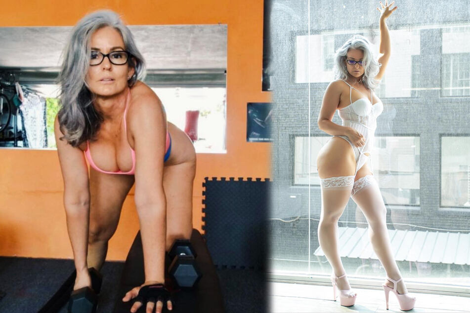50 years young: this erotic model is taking Instagram by storm