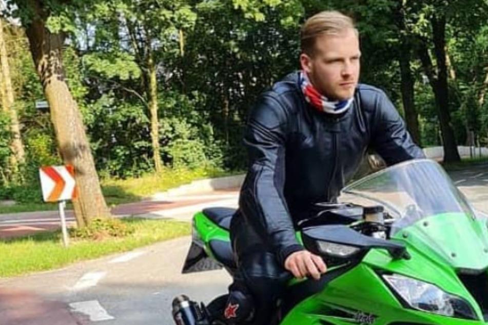 """Mathias S. (†21) starb nach der """"Krach für Kilian""""- Aktion bei einem Motorrad-Unfall."""