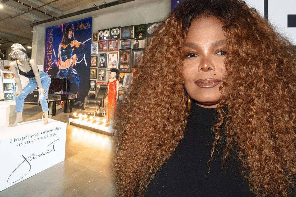 Janet Jackson entrümpelt ihren Besitz und kassiert dafür Hammersummen