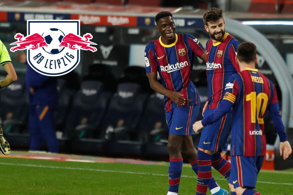 Spanisches Top-Talent hoch im Kurs: Bedient sich RB Leipzig nun beim großen FC Barcelona?