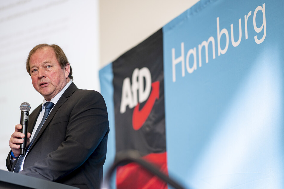 Dirk Nockemann (63) ist der Fraktionschef und Landesvorsitzende der AfD Hamburg.