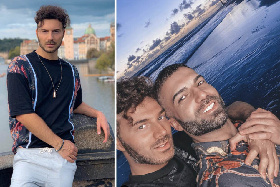Sam Dylan (29) und sein Freund Rafi Rachek (30, r.) verwirren immer wieder auf Instagram. Ob das alles echt oder Fake ist?