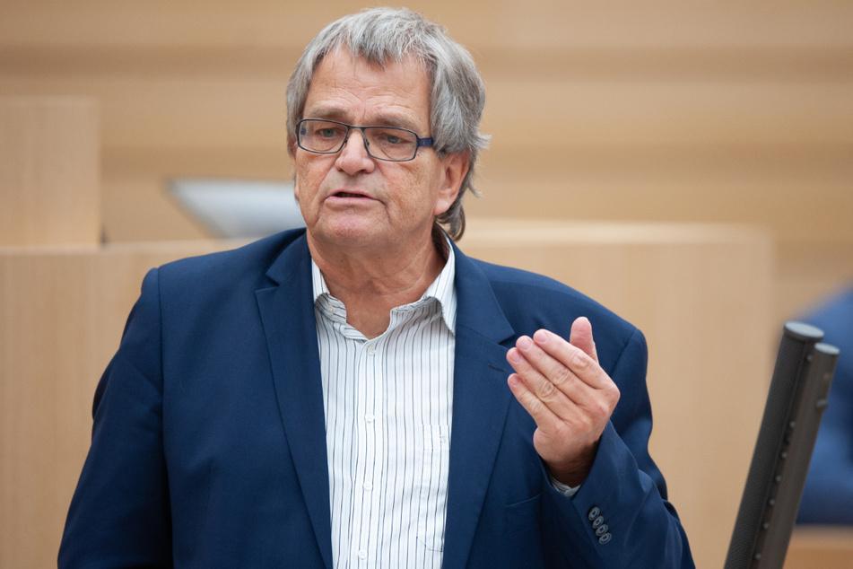 Ulrich Sckerl (69), Fraktionsgeschäftsführer der Grünen.