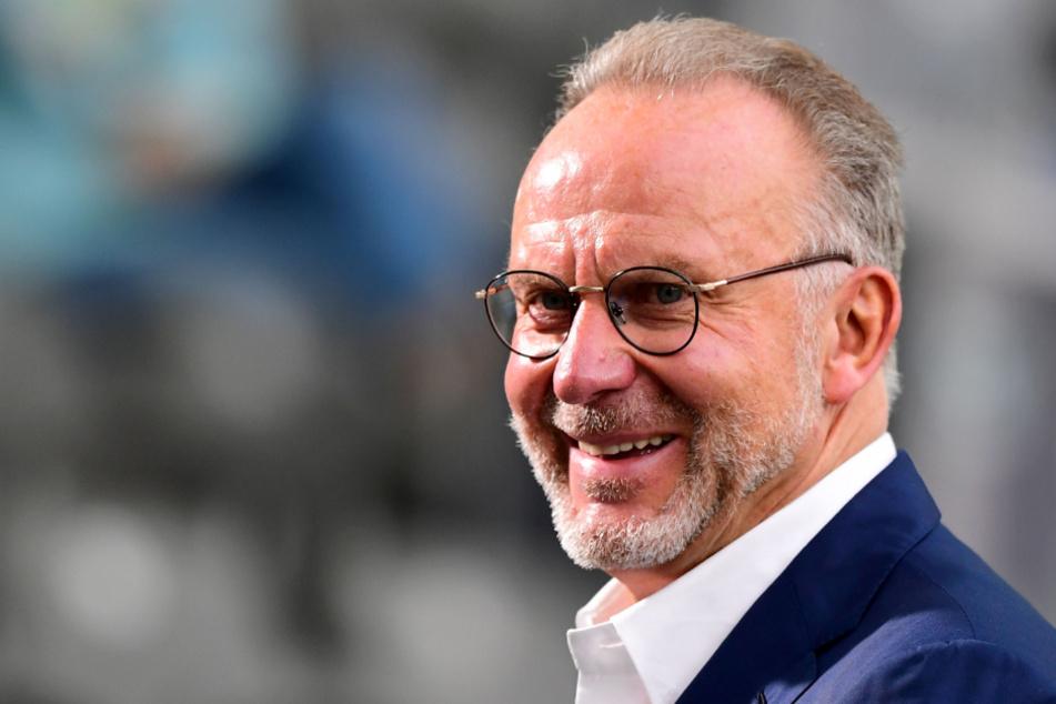 Karl-Heinz Rummenigge (64), Vorstandsvorsitzender der FC Bayern München AG.