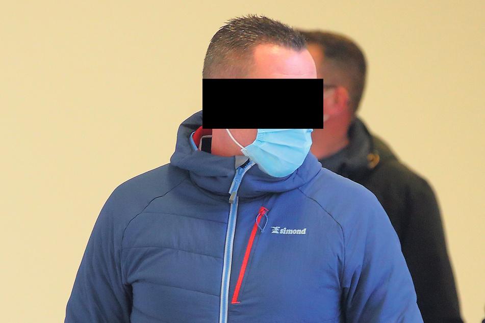 Stephan H. (42) beteuerte am Amtsgericht seine Unschuld.