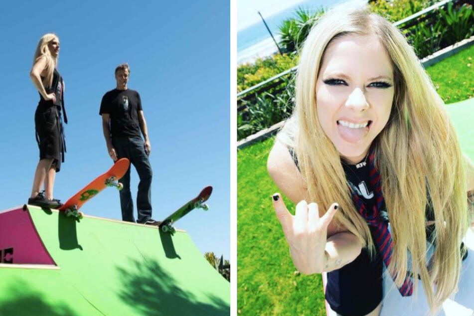Still with the Skater Boi: Avril Lavigne debuts on TikTok with totally 2000s video!
