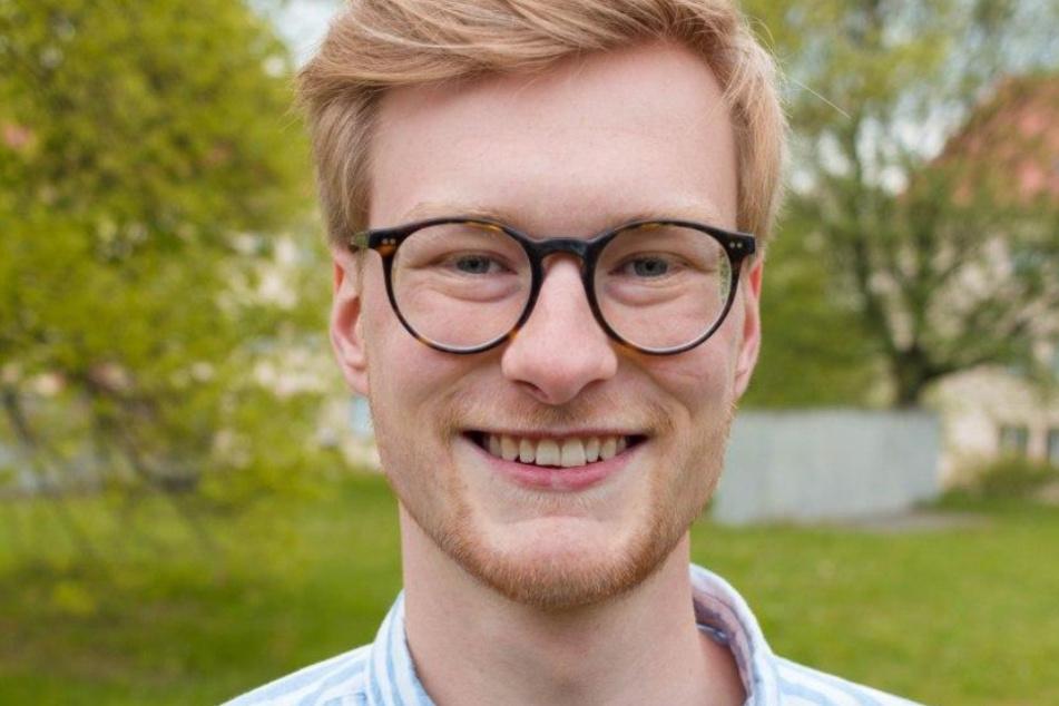 Studenten sollen in diesem Semester nicht benachteiligt werden, fordert Lukas Eichinger (23).