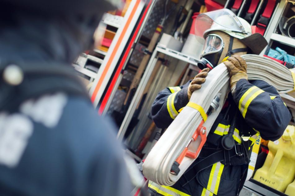Die Feuerwehr musste in Bayern ausrücken. (Symbolbild)