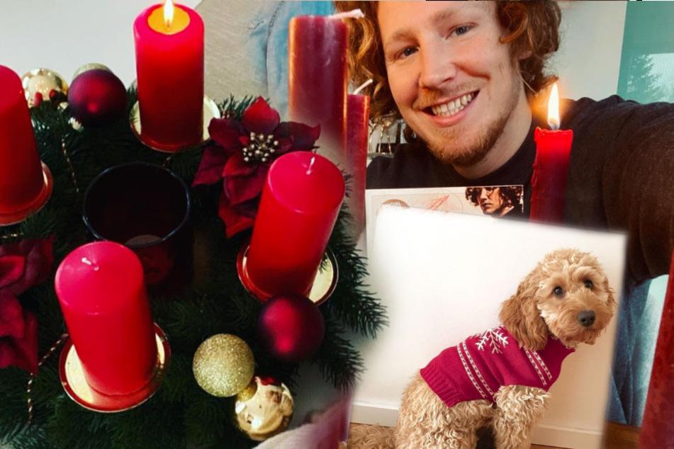 Promis feiern den 1. Advent: Von sexy bis besinnlich ist alles dabei