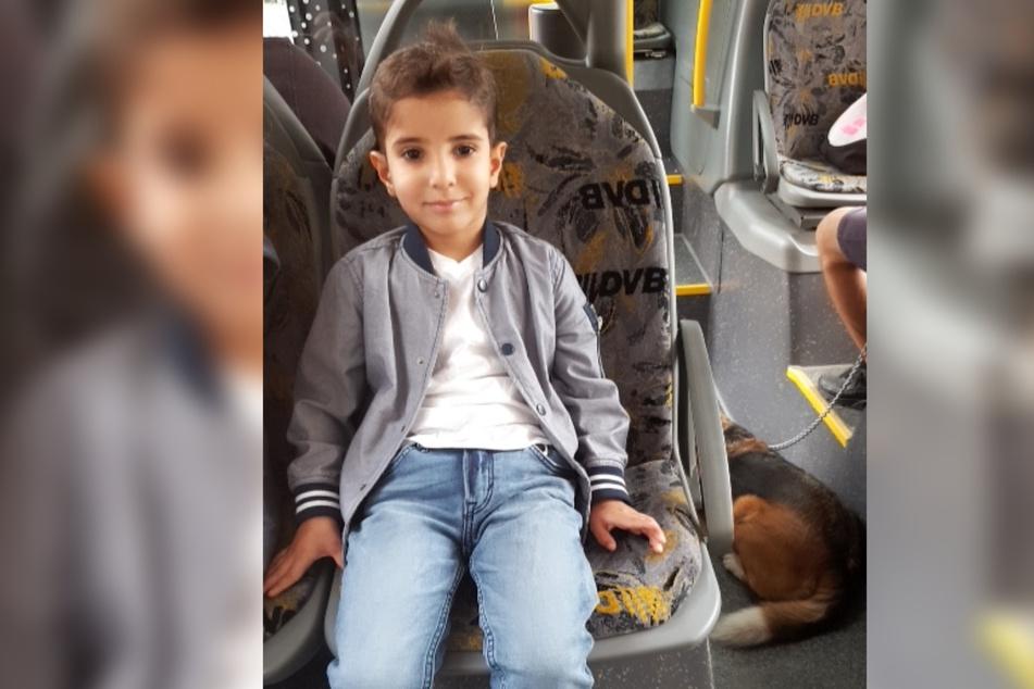 Der kleine Ali († 6) starb, als er vom Benz auf der Budapester Straße erfasst wurde.