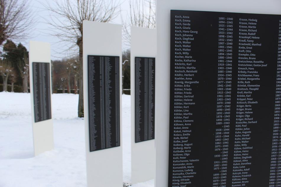 Hier stehen jetzt Stelen: Sachsen erinnert an Tausende Euthanasie-Opfer