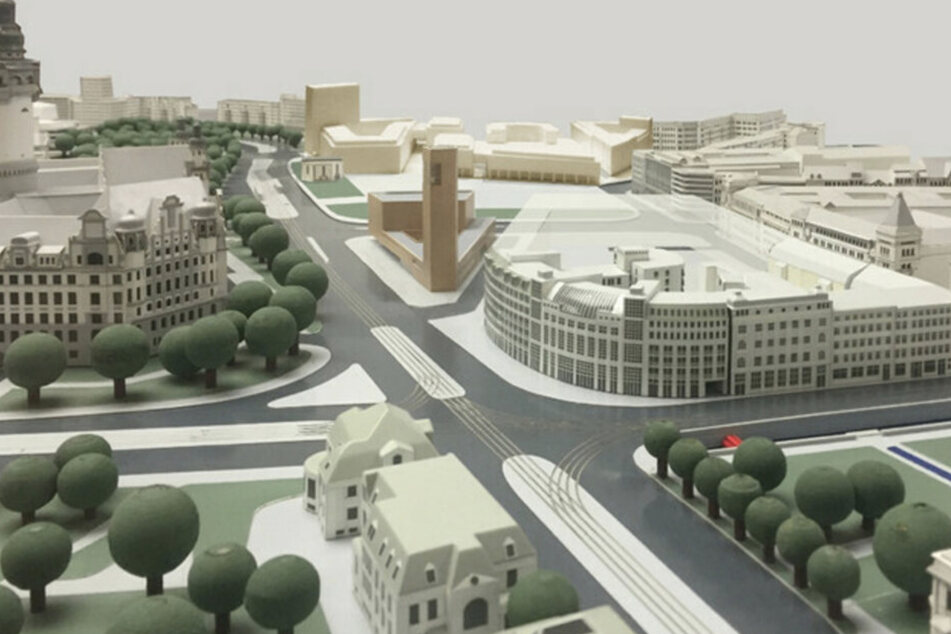 Die aktuellen Pläne für das Areal liegen zurzeit im Stadtbüro aus. (Archiv)